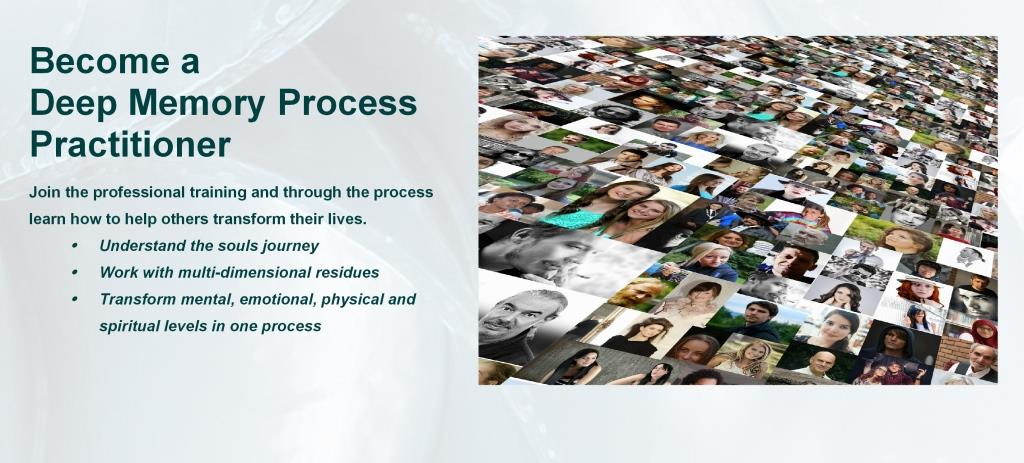 Train to be a Deep Memory Process therapist with Roger Woolger International programmes